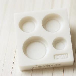 Miniature Plate Mold for Dollhouse ..